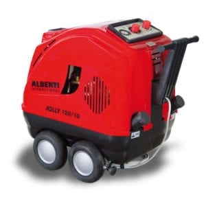 Jolly - Hot water power washer range