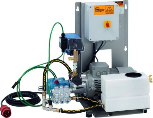 SOY WR - Stationary high pressure cleaning system