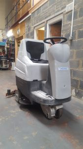 Weidner Comet 75 Ride On Scrubber Dryer
